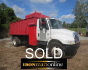 2002 International 4300 Chip Truck used for sale
