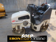 Ingersoll-Rand DD12-S Dual Drum Compactor, in very good condition.