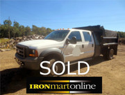 2005 Ford F-450 XL 4x4 Mason Body Dump Truck
