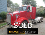 1998 Kenworth T800 Tandem Axle Tractor used for sale