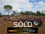 2005 Fontaine 55 Ton Lowboy Trailer used for sale