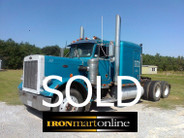1991 Peterbilt 379 Tandem Axle Tractor used for sale