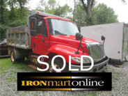 2003 International 4300 Single Axle Dump used for sale