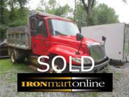 2003 International 4300 Single Axle Dump used for sale