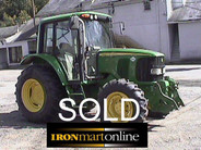 2003 John Deere 6220 Tractor used for sale