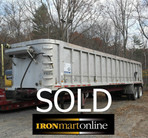 1993 Parker 60 Yard Dump Trailer used for sale