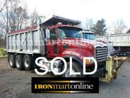 2005 Granite Mack Tri Axle Dump used for sale