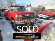 1994 Ford F350 XLT 4x4 With Plow used for sale
