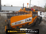 2010 LeeBoy 8515B Paver, in very good condition.