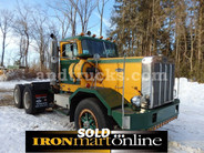 1986 Autocar Heavy Duty Haul Truck