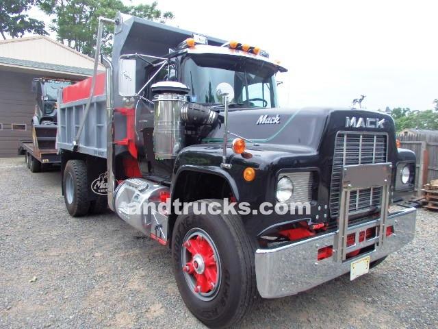 Used Dump Trucks >> Single Axle Mack Dump Truck Used For Sale