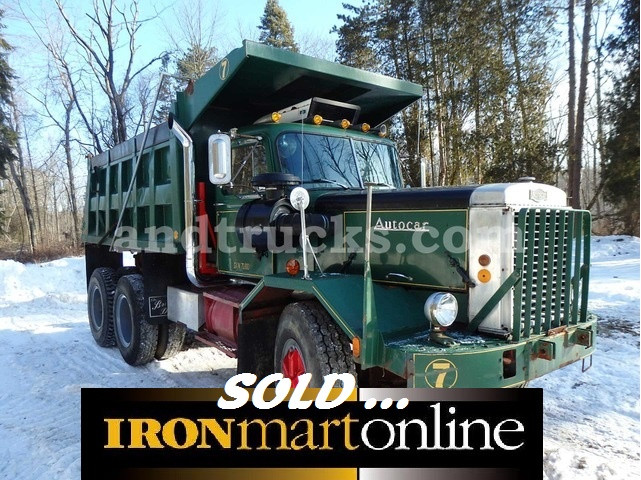 1973 Autocar Tandem Axle Dump Truck used for sale