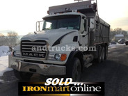 2006 Granite Mack Tri Axle Dump Truck, in very good condition.