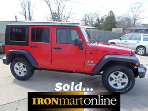 2009 jeep Wrangler hard top 4dr ironmartonline