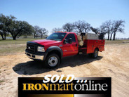 2005 Ford F450 XL Service Body Truck, 6.0 Litre Powerstroke Diesel Engine.