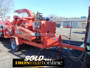 "Morbark Beever M15R 15"" Chipper, in very good condition."