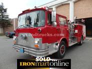1983 Mack CF611F water fire pumper truck