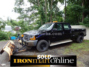 1999 Ford F-350 Super Duty 4x4 Crew Cab Plow Truck