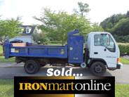 Isuzu cab over mason Dump Truck ironmartonline