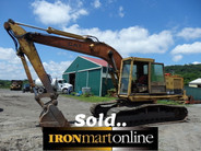 Cat 225B LC Excavator spec's sold