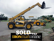2001 Caterpillar 4WD TH63 Telehandler used for sale