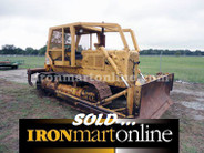 1970 Caterpillar D6C Dozer, with CAT 6S Tilt Blade with Back-Up Rippers.