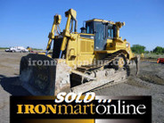 2008 CAT D7R II Crawler Tractor, Good condition.