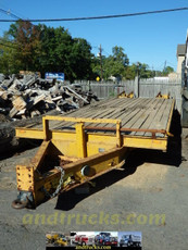 Used CZ18KT 9 Ton Tandem Equipment Trailer for Sale