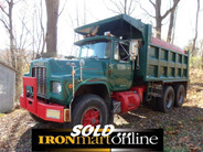 R-Model Mack Tandem Axle Dump Truck, in very good condition.