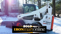 Bobcat S770 Skid Steer with A91 Package