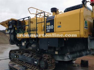 2008 Komatsu Model BR380JG-1 Mobile Jaw Crusher, this Crusher is Work Ready.
