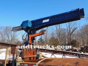 6000lb steelmaster telescoping trolley boom,