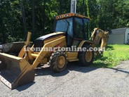 2005 Cat 416D backhoe Loader