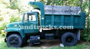Single Axle Dump Truck