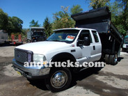 2004 Ford F-450 XL Super Duty Mason Dump Truck