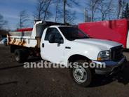 used Ford F550 XL 4x4 Mason Body Dump for sale