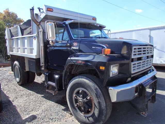 Dump Truck For Sale >> 1987 Ford F 800 Single Axle Dump Truck