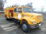 International 4900 Utility crew cab