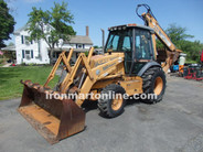 Case 590 Super L Backhoe Loader