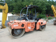 2010 Hamm HD90 66'' double drum Vibratory roller