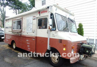 Grumman 22 foot food truck