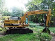 1987 Cat 215B Excavator with Thumb