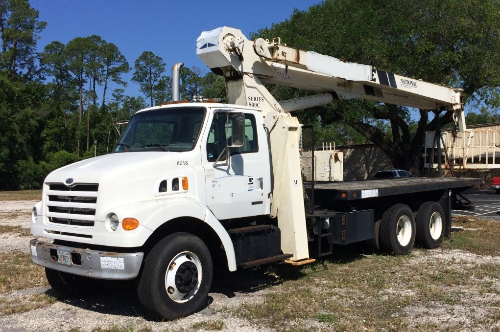 Crane Truck For Sale >> 1999 Sterling 7501 Crane Truck For Sale