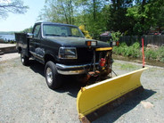 1997 F-350 XLT 4x4 Plow Utility Truck