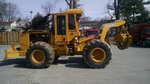 1998 John Deere 548G II Log Grapple Skidder