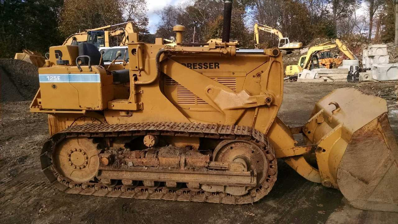 Track Loader For Sale >> International 125e Crawler Track Loader For Sale