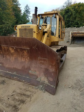 1987 International TD-25G Crawler Dozer