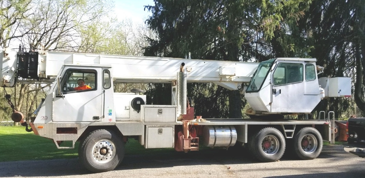 Crane Truck For Sale >> Terex T220 30 Ton Crane Truck For Sale