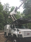 2004 C8500 GMC Bucket Truck with High Ranger 75ft Forestry 11ft Southco Dump Chip Box