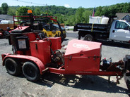 2005 Crafco Super Shot 250 Melter Asphalt Crack Sealer with Compressor